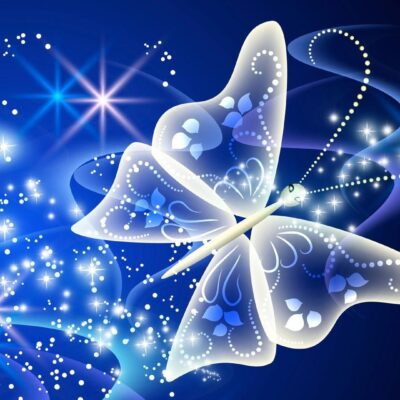Magical Butterfly HD Wallpaper
