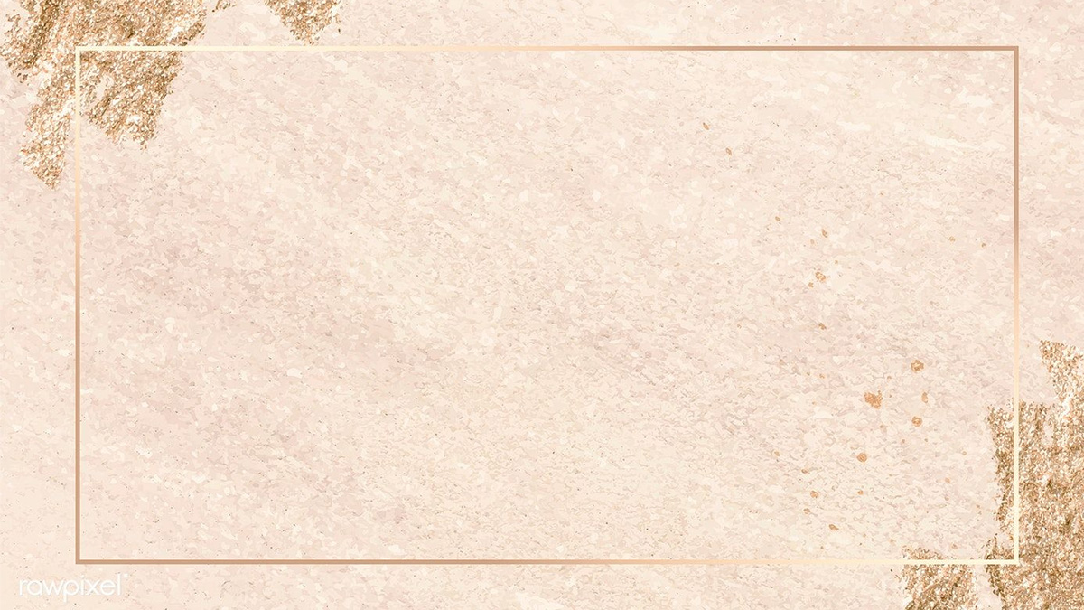Gold frame texture background image